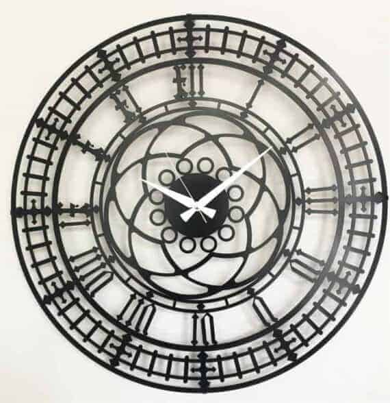 Big Ben Clock Metal Duvar Saati